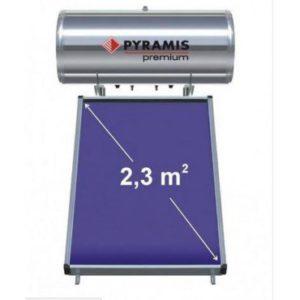 mafou.gr - Θερμοσίφωνες - Ηλιακός Θερμοσίφωνας Premium Pyramis