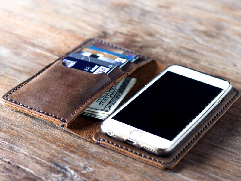 θηκη iphone πορτοφολι