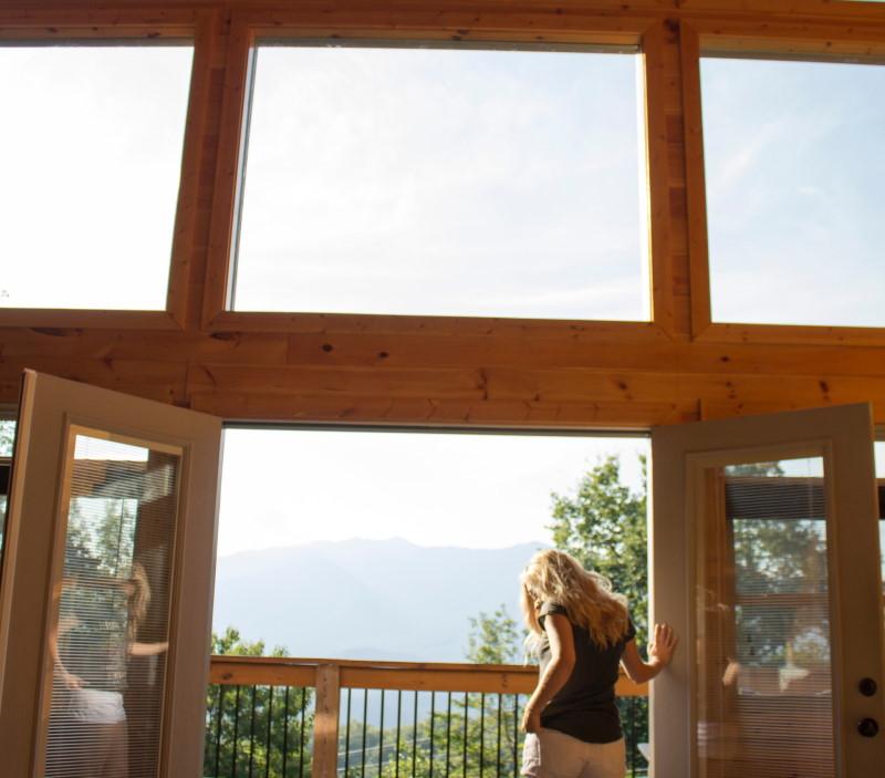 Ξύλινα χαρακτηριστικά μιας οικίας